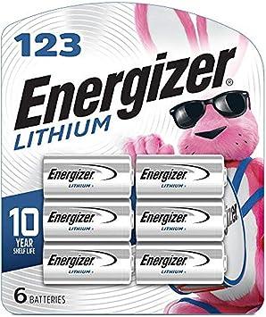 Energizer Ultimate Lithium 123 3v 6 Pack Elektronik