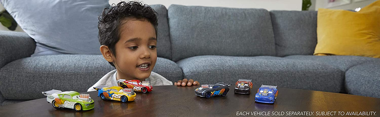 Disney Cars GFV39 Pixars Cars XRS Drag Racing Lil Torquey 1:55 Scale Die-cast Vehicle Multicoloured