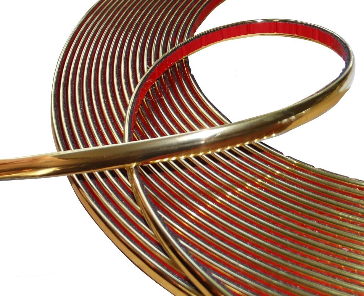 Aerzetix 10mm 4 5m Stick Klebeband Goldene Farbe Gold Elektronik