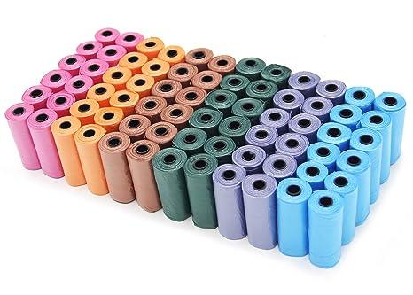 BPS (R) Bolsas de Caca de 72 Rollos, Total 1080 Bolsas, Poop Bag para Perro, Mascotas, Animales Domésticos. (72 rollos)BPS-2329-1