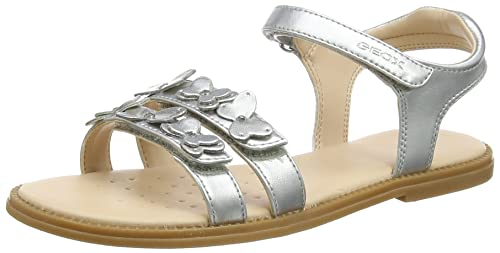 Geox Girl's Karly Silver Sandal