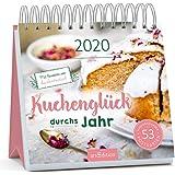 Postkartenkalender Kuchenglueck durchs Jahr 2020 - Wochenkalender mit abtrennbaren Postkarten und Rezepten von Kuchentratsch: Ein ideales Geschenk fuer alle, die Kuchen lieben und gerne selber backen