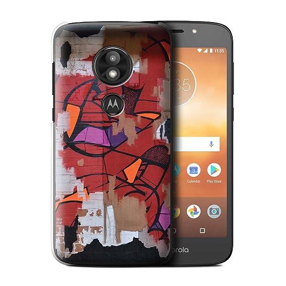 c6ecc03814 Amazon.com: STUFF4 Phone Case/Cover for Motorola Moto E5 Play/Red ...
