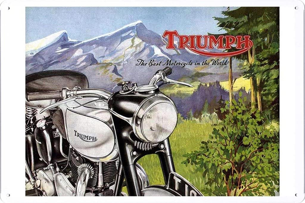 Amazon.com: Triumph mejores Motocicletas bosques 7.8
