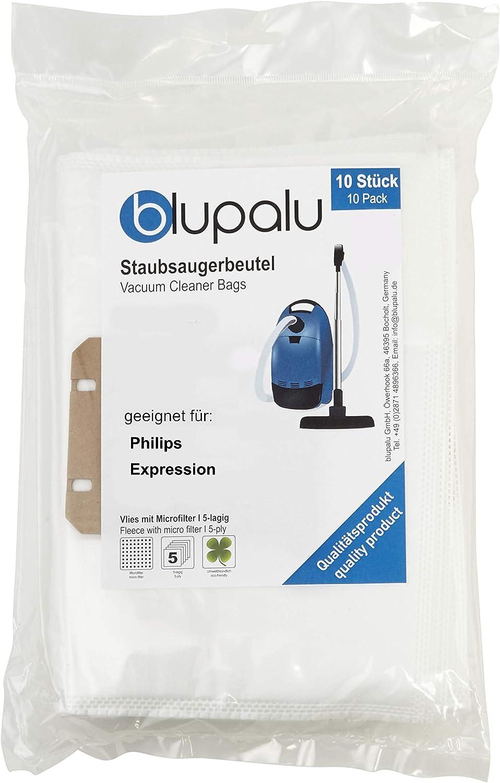 blupalu I Aspiradora bolsas para aspirador Philips Expression I 10 ...