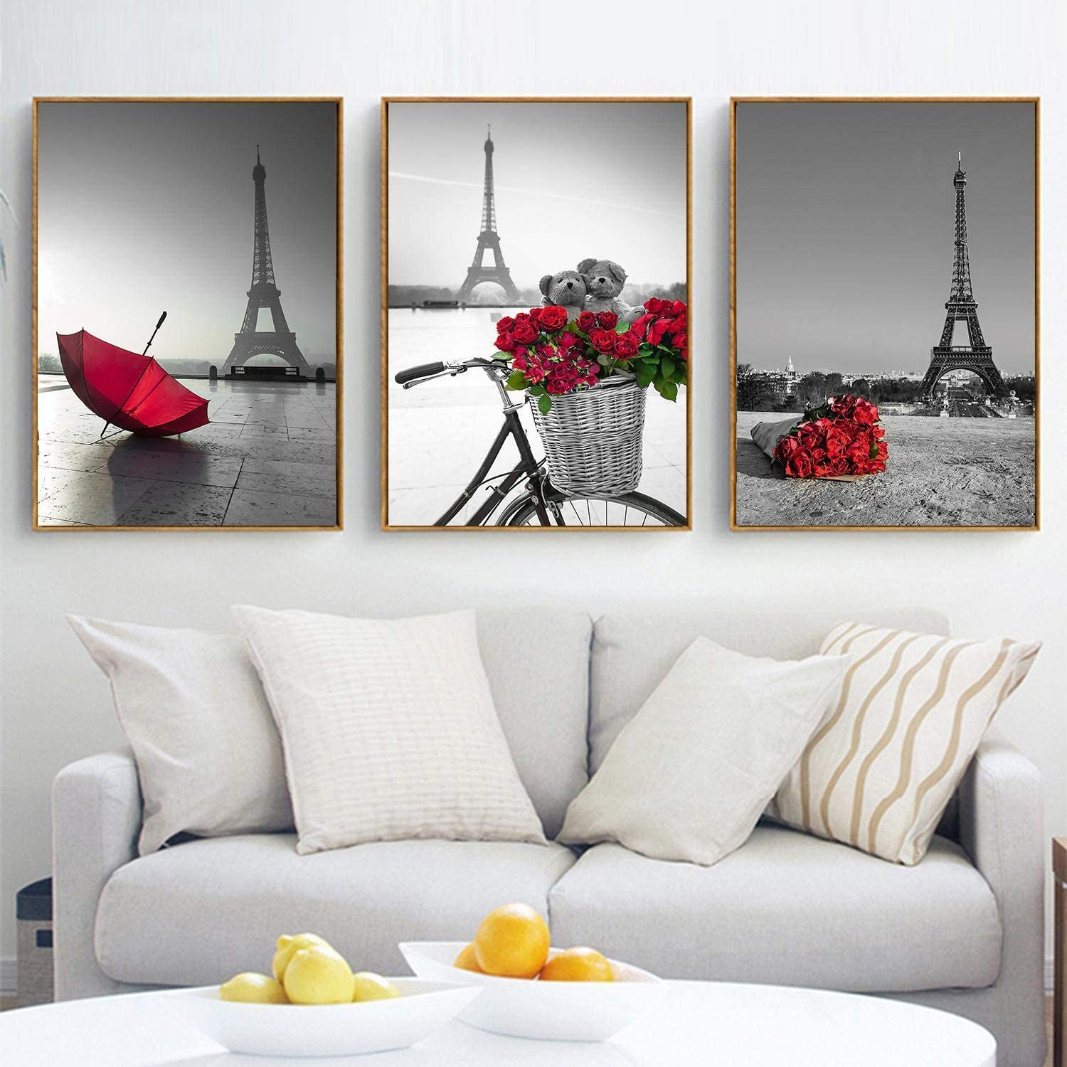 werall Beautiful Frameless Colorful Painting Printed Oil Painting Home Decorations Paintings