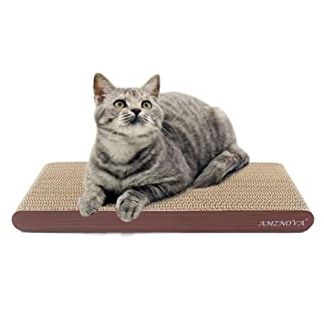 Amazon Com Amznova Cat Scratch Pad Cardboard Scratcher Scratching
