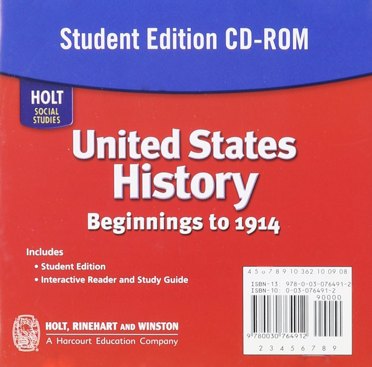 holt united states history beginning to 1914