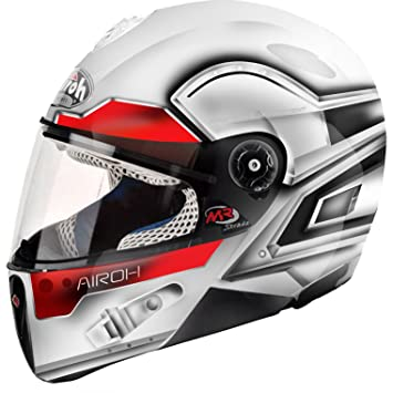 MRSLU38XXS - Airoh Mr Strada Junior Motorcycle Helmet XXS White