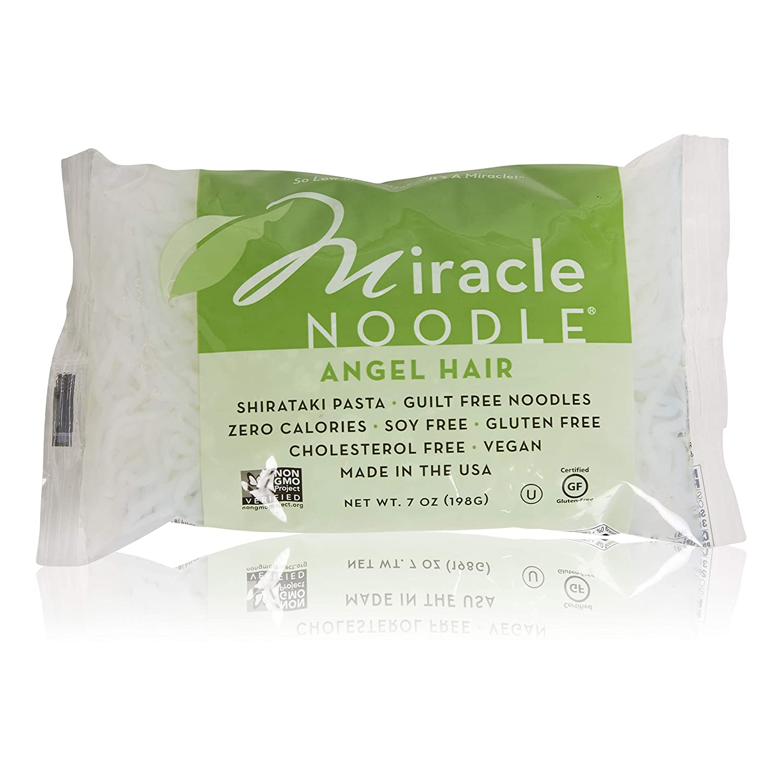 Amazon Com Miracle Noodles Angel Hair 24 Pack Shirataki
