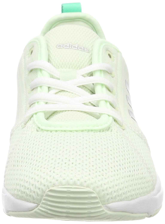 Adidas Adidas Adidas Damen Arianna Cloudfoam Hallenschuhe Grün (Aero Grün/Silver Metallic/Footwear Weiß) c54604