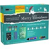 Hobby Line 49751 - Pic Tixx Kerzenpen Set Merry Christmas