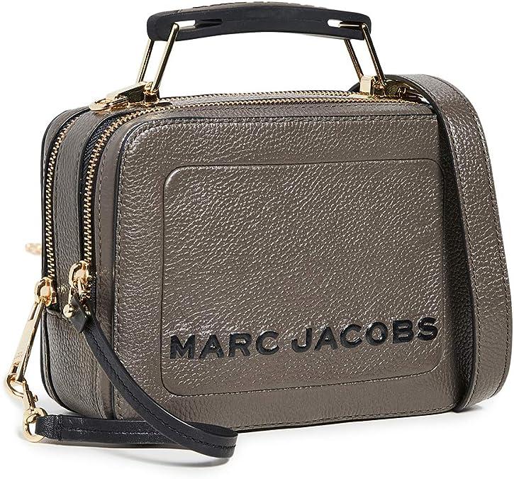 Marc Jacobs Femmes le mini sac en cuir texturé de la boîte Gris ...