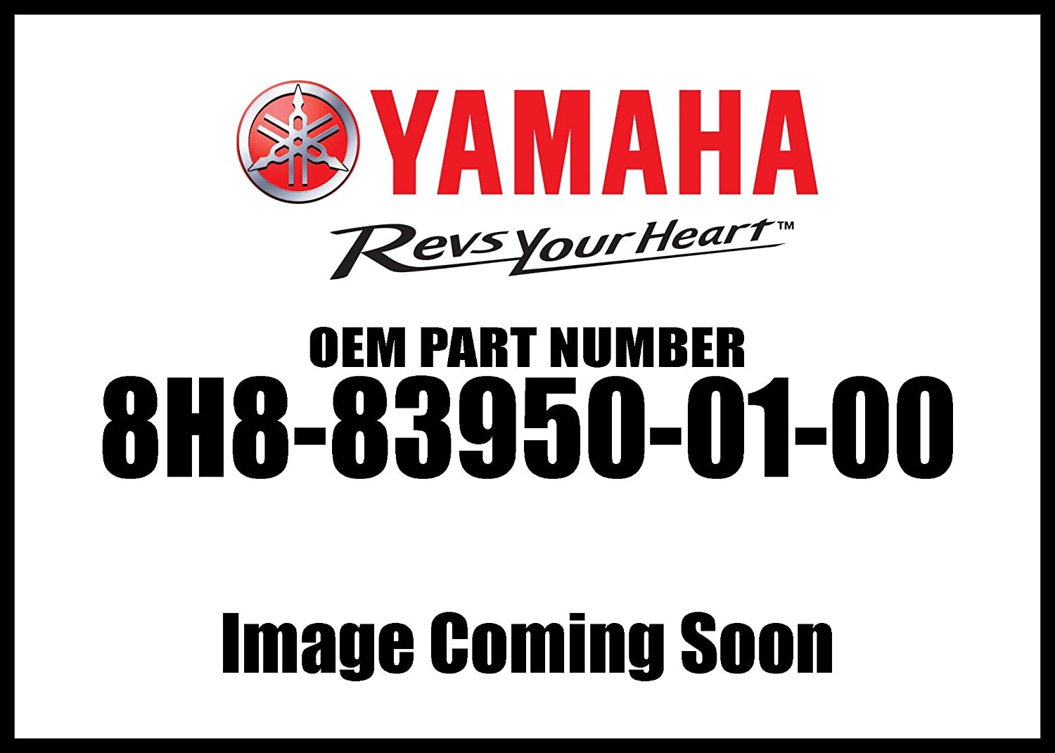 Yamaha 8H8-83950-01-00 Beam Switch Assembly; 8H8839500100 Made by Yamaha