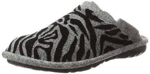 RomikaMikado 07 - Pantofole Donna, Grigio (Grau (Grau (710)))