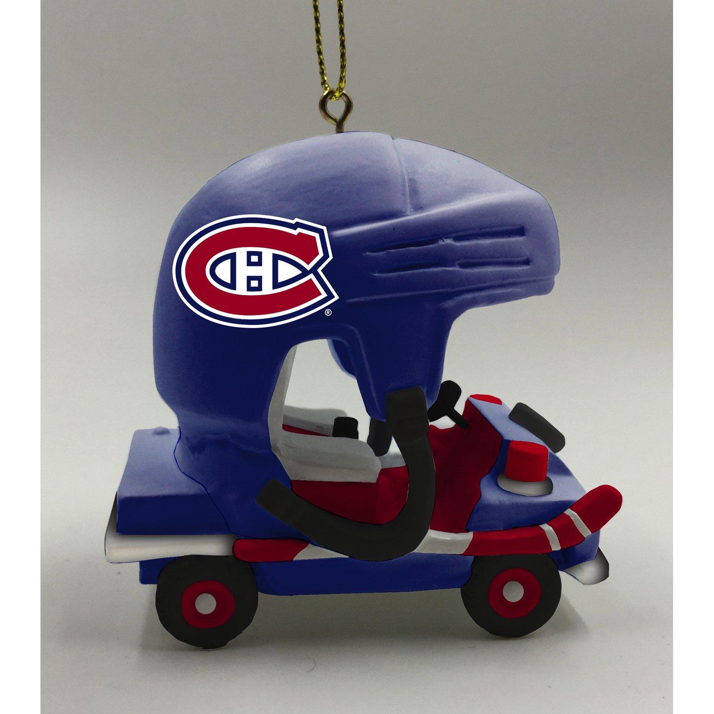 Team Sports America Montreal Canadiens Vintage Rink Cart Team Ornament