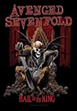 AVENGED SEVENFOLD FLAGGE FAHNE POSTERFLAGGE HAIL TO THE KING