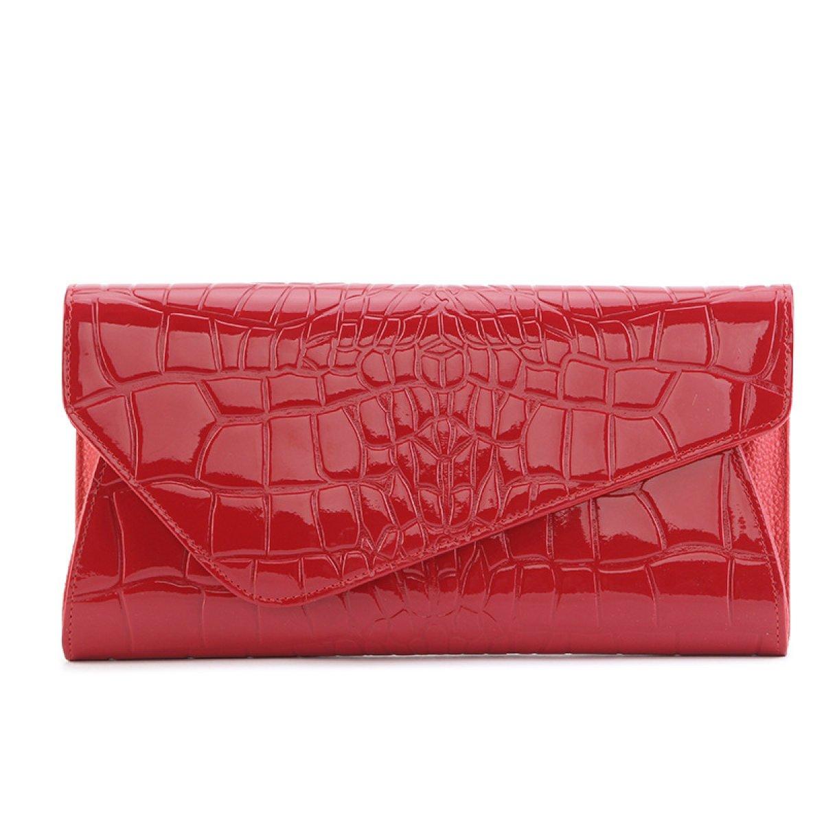 DUYANGANG Mode Damen Leder Umschläge Umschläge Umschläge Tasche Clutch Abend Umhängetasche B074DSFVDM Henkeltaschen Geschäft 09e99a