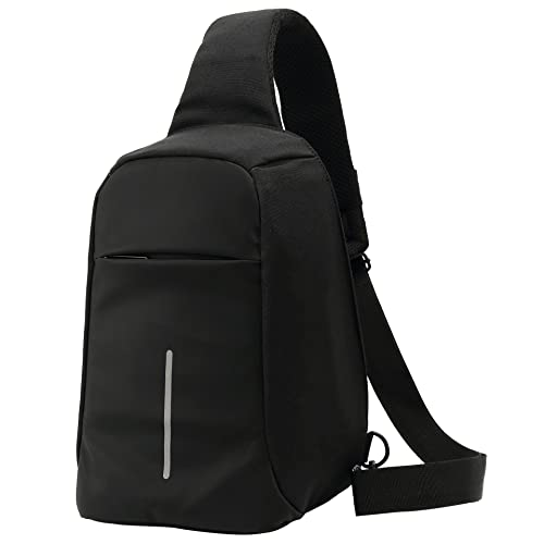 44a971b9d86d Backpacks Mini Ipad Gym Laptop Travel Sling Bags Theftproof Hiking Small  Crossbody Bag Chest Shoulder Daypack Mens Womens Unbalance Canvas Outdoor  School 3 ...
