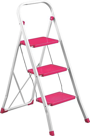 Premier Housewares – 2100024 escalera de 3 peldaños, 2100025: Amazon.es: Bricolaje y herramientas