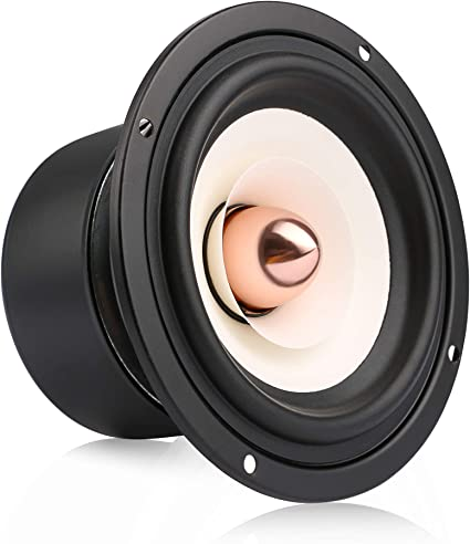"""2.5/"""" inch Hi-Fi Desktop Full-range Speaker High sensitivity speaker 4ohm 8ohm"""
