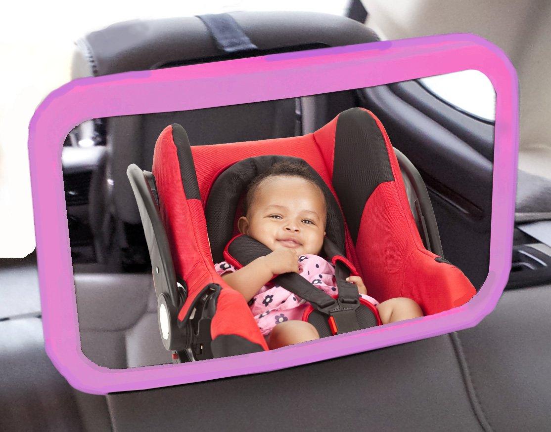 Extra Großer WIDEVIEW Baby Autositz & Kind Sicherheit Eltern View ...