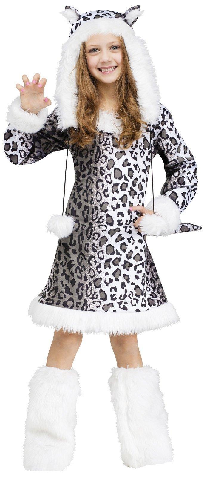 Snow Leopard Kids Costume, Large (12-14)