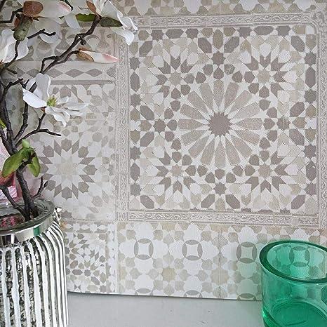 Marrakesh Recuperato Mosaico Decorato Effetto Piastrella Carta da ...