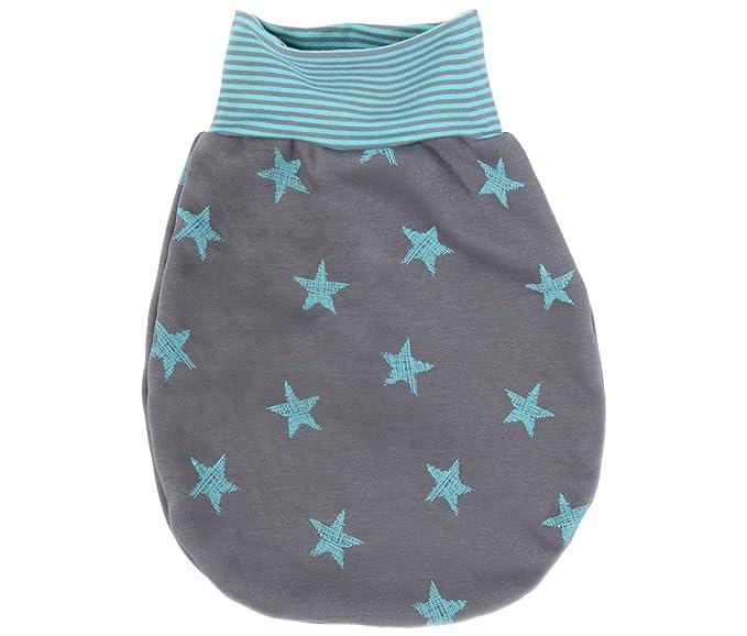 Lila Niño Saco de Dormir Sleeping Saco Jersey Polar Estrellas – Fabricado en Alemania Gris