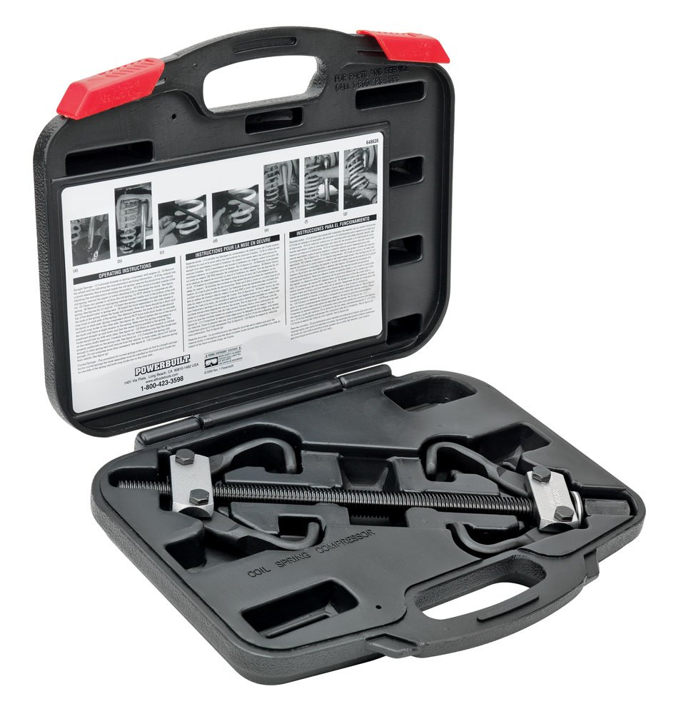 Alltrade 648628 Kit 2 Coil Spring Compressor Tool Set