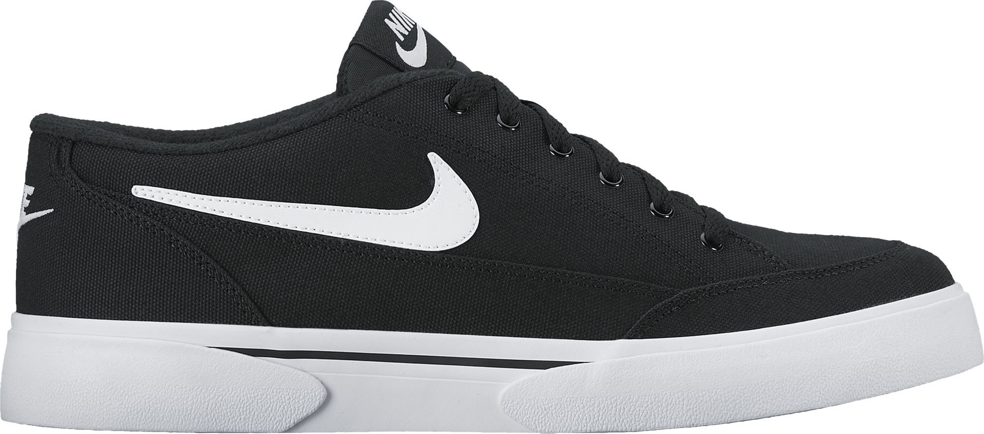 NIKE Men's Gts '16 TXT Casual Shoe Black/White 7.5