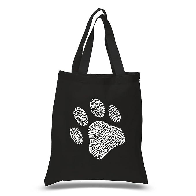 Amazon.com: Huella de perro Bolsa de transporte pequeña ...