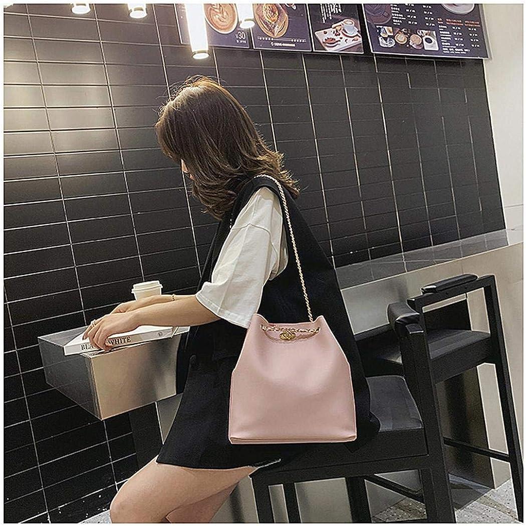 Dongdongole 2Pcs//pack Women Fashion Bucket Leather Shoulder Bag Handbag Shoulder Bags Tote Bag Set