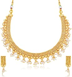 Sukkhi Jewellery Sets for Women (Golden) (N71262GLDPP1000)