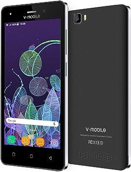 Moviles Libres 4G Dual SIM, 5.0 Pulgadas, 8GB ROM, Android 7.0, Móvil Libre Doble Cámara A10 Smartphone Libres A10: Amazon.es: Electrónica