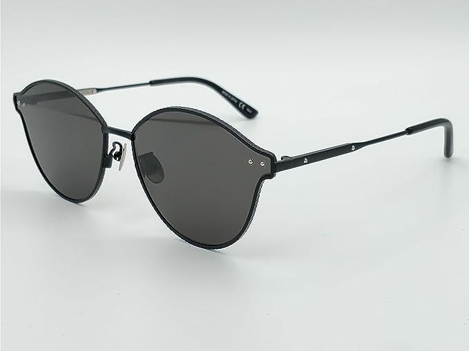 608e13045f83b Sunglasses Bottega Veneta BV 0139 S- 001 BLACK   GREY  Amazon.ca ...