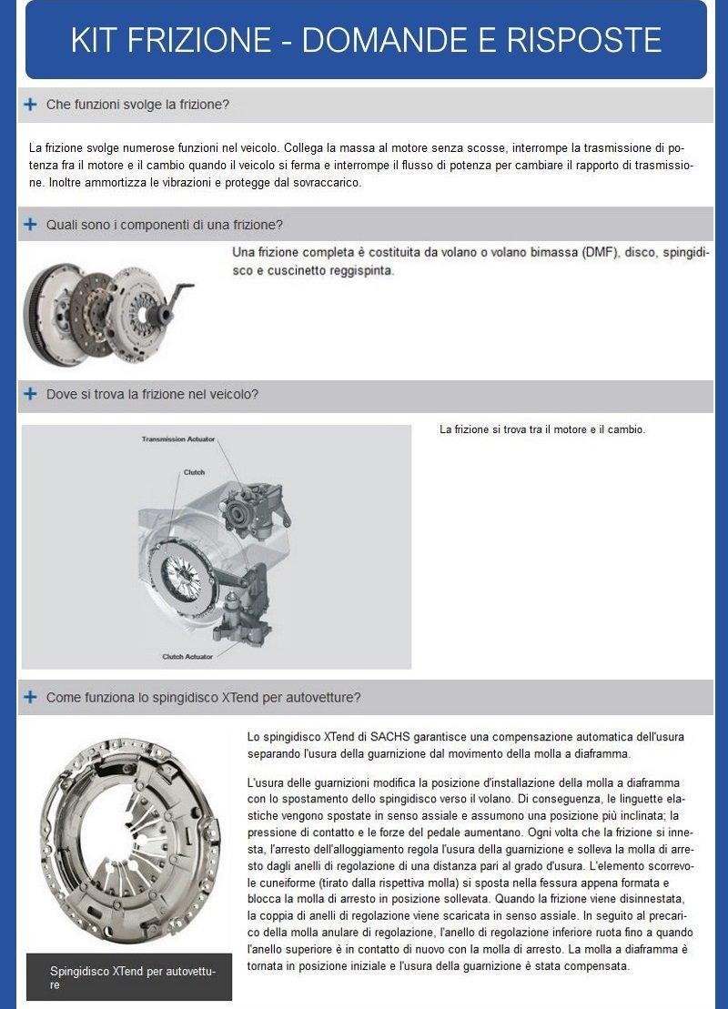 juego de embrague 3 unidades con almohadilla + De impacto con sachs 3000951933 + 2294001364: Amazon.es: Coche y moto