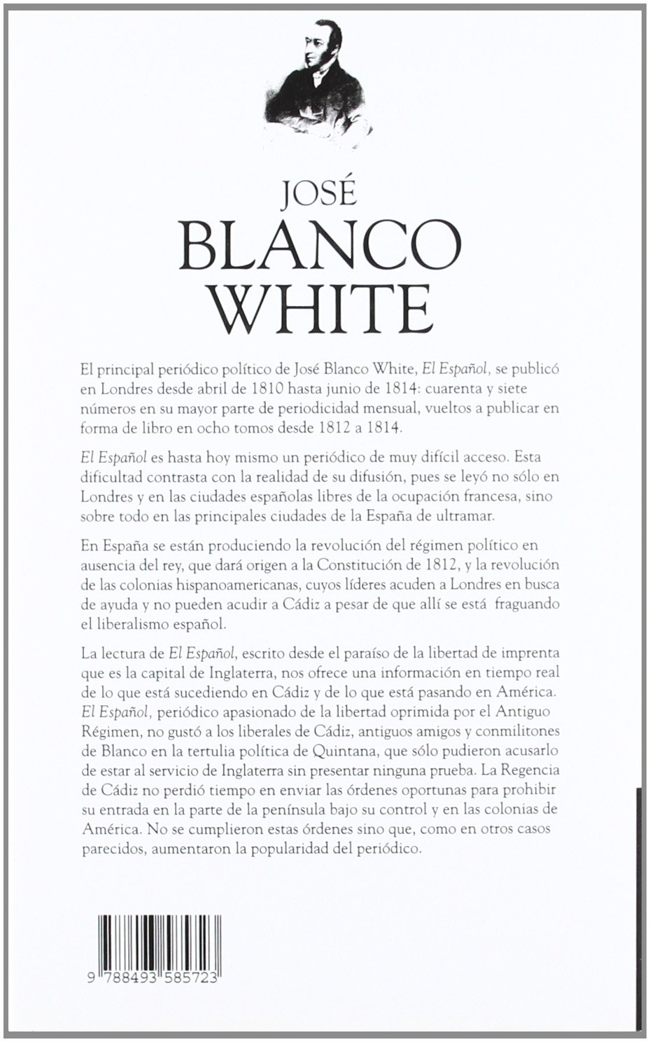 Title: JOSE BLANCO WHITE EL ESPAÑOL OC II: GARNICA: 9788493585723: Amazon.com: Books