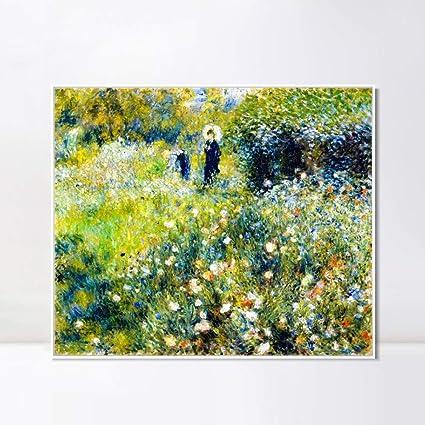 Amazon.com: INVIN ART Framed Canvas Giclee Print Art Femme ...