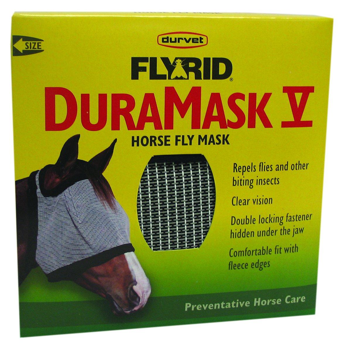 Durvet Fly D 698574 Duramask Fly Mask by Durvet