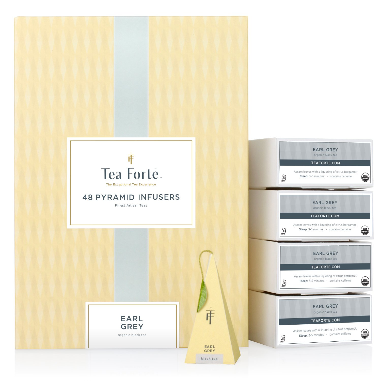 Amazon.com : Tea Forte English Breakfast EVENT BOX Bulk Pack, 48 ...