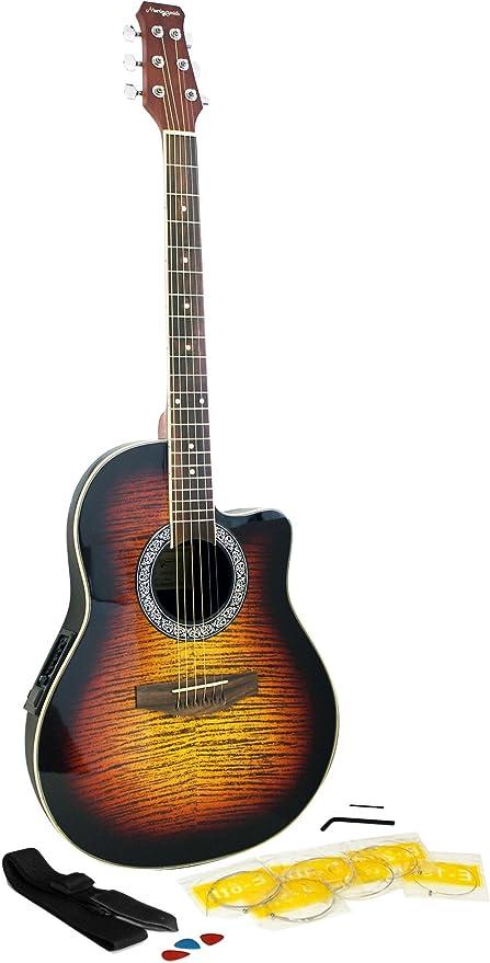 Martin Smith R202-SB - Guitarra electroacústica: Amazon.es ...