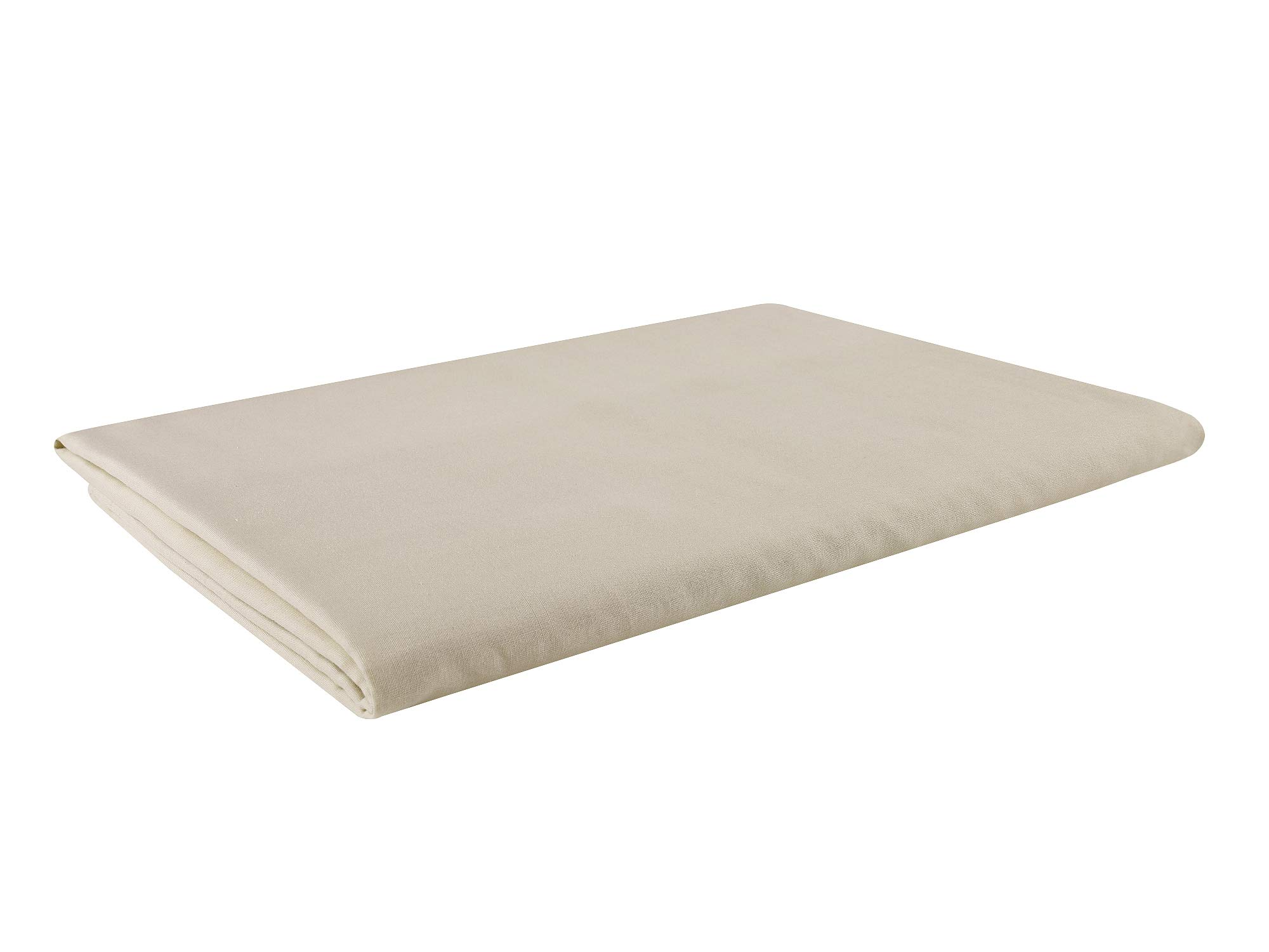 GYS Ultra Soft and Lightweight 100% Organic Cotton Hospital/Home Blanket (Twin Size, 30 Ounce, 58.3''x82.7''), Summer Quilt with 5 Layers of Organic Cotton, Flaxen by GYS (Image #2)