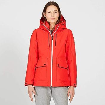 b972455fdd2263 Aigle - Veste De Ski - Montbeille GD - Femme - 44 - Rouge: Amazon.fr ...