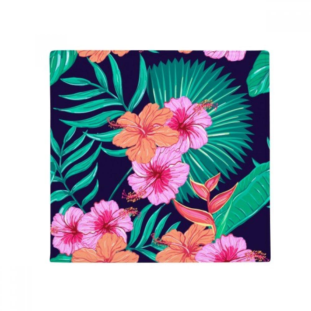 DIYthinker Flower Plant Leaf bluee Sky Anti-Slip Floor Pet Mat Square Home Kitchen Door 80Cm Gift