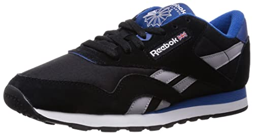 Zapatillas Reebok CL NYLON RS NEGRO / AZUL / BLANCO: Amazon.es: Zapatos y complementos