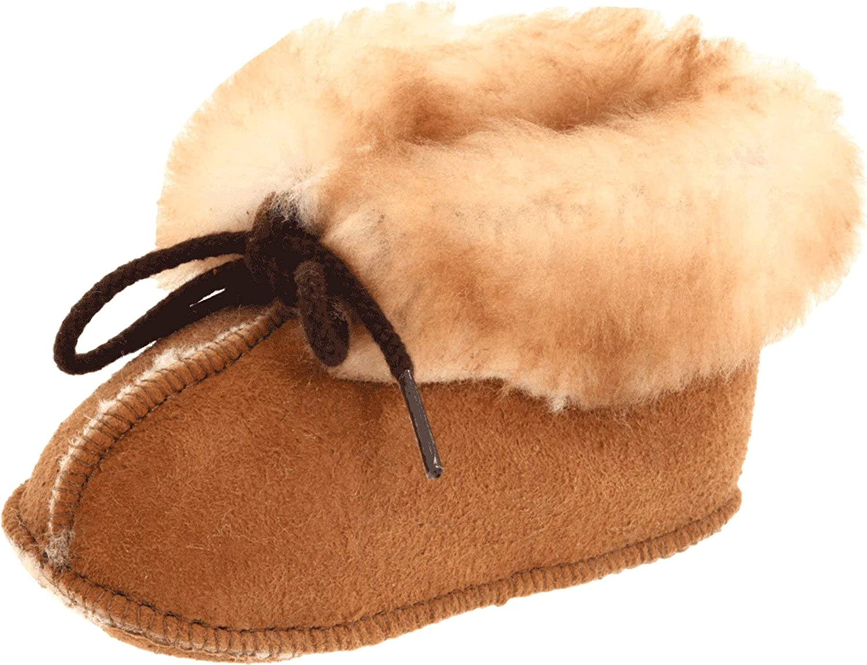Handmade cotton Baby bootie slipper moccasins super soft fleece lined