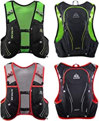 AONIJIE E928 5L Hydration Vest Backpack For Outdoor Sports Marathon Cycling  Hiking be14f34f7159