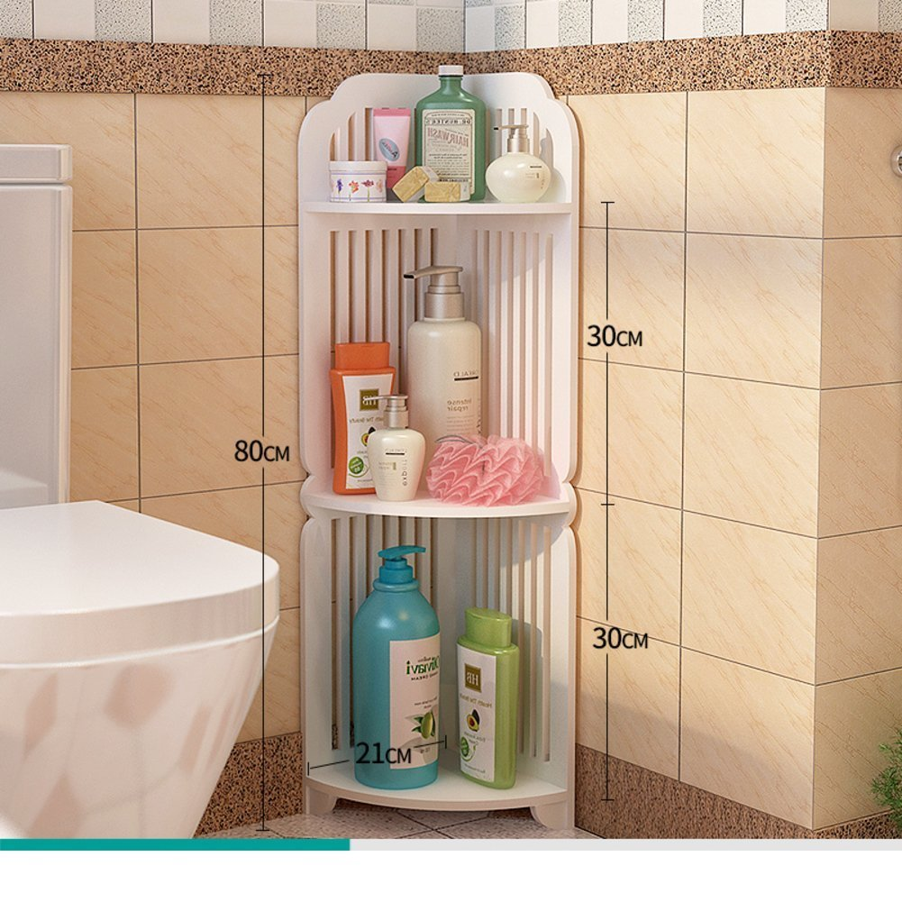 cheap Bathroom racks/bathroom corner floor stand/Delta multi-shelf ...