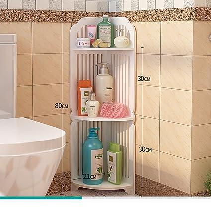 Bathroom racks/bathroom corner floor stand/Delta multi-shelf ...